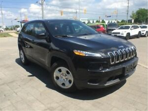 2016 Jeep Cherokee SPORT 4X4**TRAILER TOW GROUP**HEATED SEATS**