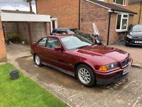 BMW, 3 SERIES, Coupe, 1996, Manual, 1896 (cc), 2 doors