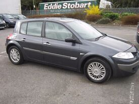 2006 Renault Megane Privilege 1.9 DCI.New MOT.Service history.P/X welcome.