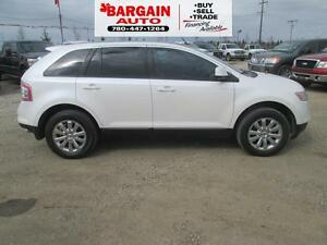 2010 Ford Edge SEL,V6,LEATHER,PANORAMIC MOON ROOF