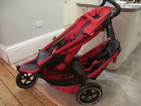 Phil and Ted's single/double buggy with raincover