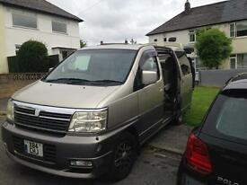 Nissan Elgrand for sale 8 seater