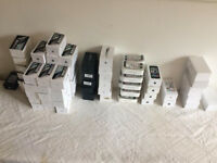 Perfect Job Lot of 74 Official Original Apple iPhone Boxes from 3GS 4 4S 5 5C 5S 6 6 Plus all Mixed
