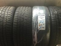 4xContinental Winter Tyres 245/40/20 inch