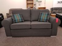 Ex Display 2.5 Seater Sofa Dark Grey Can Deliver View Collect Hucknall Nottingham