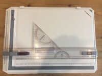 Rotring A3 Rapid Drawing Board in college case
