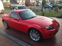 For sale Mazda MX5 roadster.