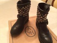 Ash motorcycle boots size 36