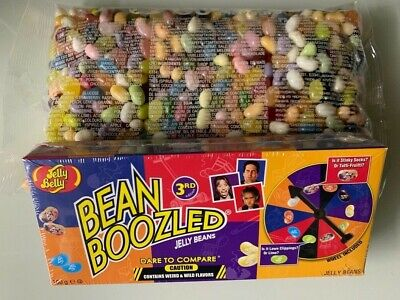 y Beans 50 Sorten Mix+ 1 Glücksrad Partyspiel Bean Boozled (Beanboozled Spiel)