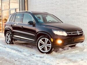 2014 Volkswagen Tiguan Highline R-LINE // MAGS 19 + 4MOTION 84.9