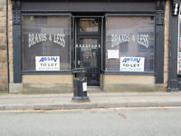 ex cafe with planning would make a great butty shop or if funds re open as a cafe