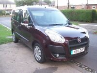 Fiat Doblo Diesel Automatic (new shape) quite rare/sought after with only 26,000miles!!!