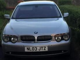 BMW 745i Auto Petrol LPG Conversion with HUGE Custom Spec - See Description