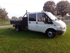 *FORD TRANSIT TIPPER DOUBLE CAB*