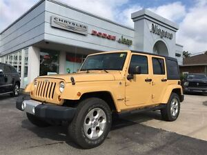 2013 Jeep WRANGLER UNLIMITED SAHARA,AUTO,EXTREMELY LOW K!