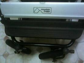 Duet double mountain buggy and extras