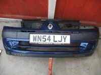 Renault Clio front Bumper (2001-2006).. Paint code TED44