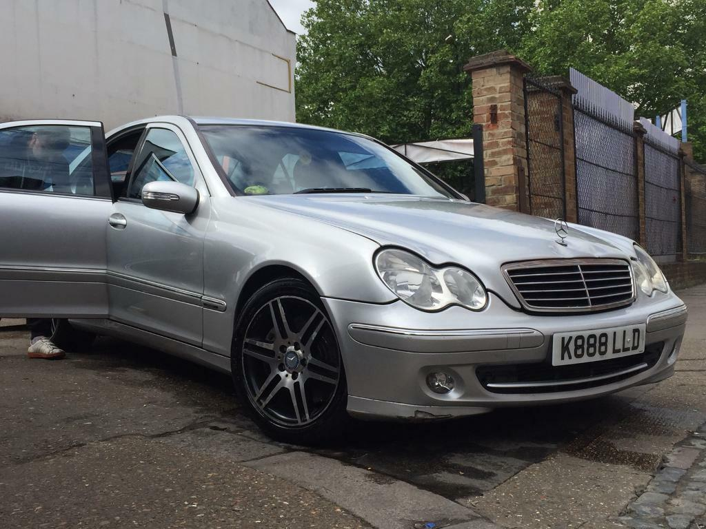 mercedes c220 auto 2004 cdi silver amg automatic also private plate khaled in east ham. Black Bedroom Furniture Sets. Home Design Ideas