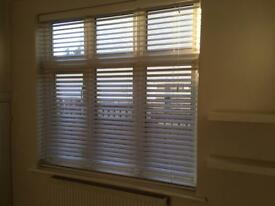Premium IVORY window blinds 165cm x 165cm
