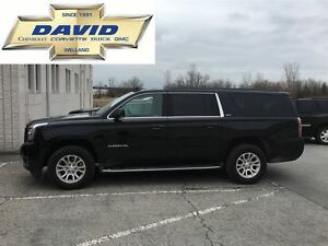 2016 GMC Yukon XL SLT 4WD, LEATHER, SUNROOF, 8PASS