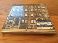Led Zeppelin Physical Graffiti Deluxe Edition CD Japanese Import. Brand New & Sealed