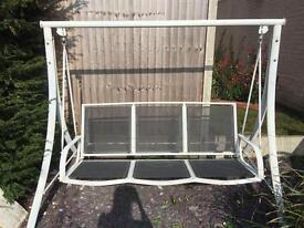 3 Seater Garden Swing Chair