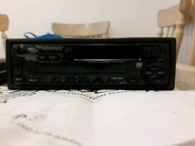 Kenwood Car cassette/radio