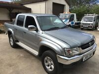 Toyota hilux invincible 2.5 tdiesel 2005 crewcab long mot