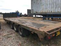 Broshius Extendable low loader