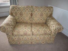 Sofa (2 seater, fabric covered)