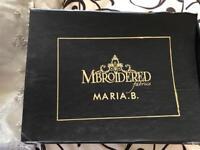 Maria B designer stitched suit