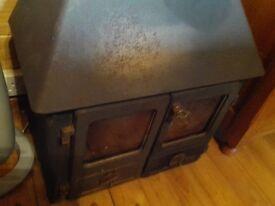 Wood burning stove, 7Kw