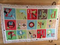 Baby's alphabet play mat for sale