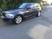 BMW 120D Sport Auto With Leather 2004 spares or repair