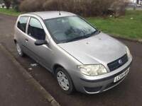 FIAT PUNTO 1.2 MANUAL / PETROL / FRESH MOT TILL MARCH 2019 / 91000 GENUINE MILES / £795
