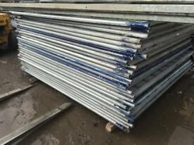 👷🏽 SOLID HOARDING FENCE PANELS > SITE SECURITY > USED