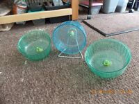 hamster/small rodent exercise wheels