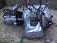 pit bike engine and pit bike parts