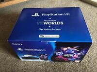 PlayStation VR with camera and worlds code