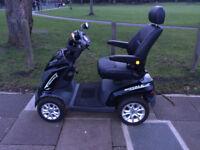 Drive Royal 4 Mobility Scooter - Long Range 4 wheels - Black 2015 Model