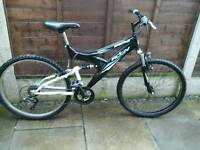 , RALEIGH ACTIVE SPECTRE ,,FULL SUSPENSION, 26, ALLOY WHEELS