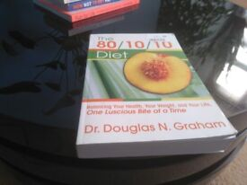 The 80/10/10 Diet By Douglas N. Graham. Used book in good condition - Collection Only.