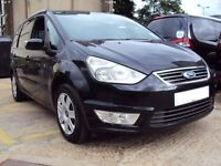 Ford galaxy breaking 2013 black and leather seats alloys