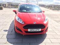 Ford fiesta 2014 Zetec S 1.0 turbo ecoboost 125bhp free road tax