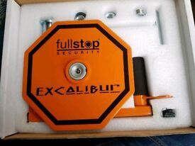 Fullstop wheel lock
