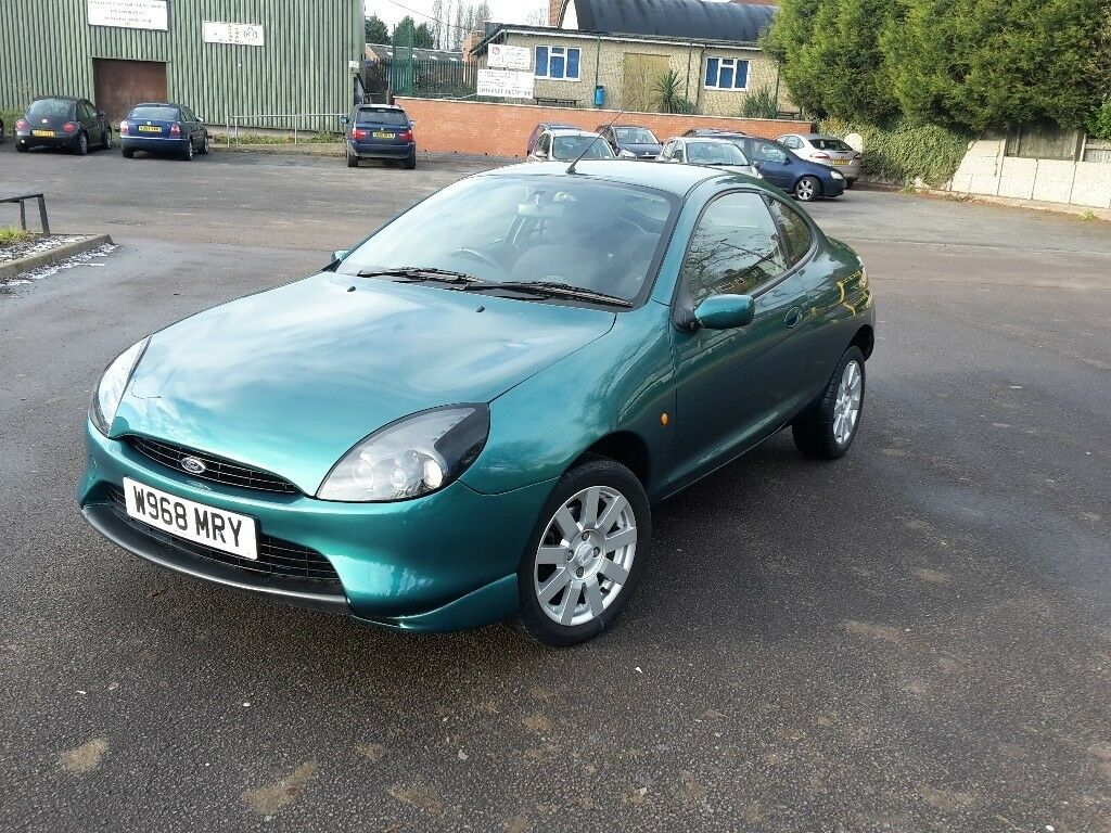 2000 w ford puma 16v metallic green 3 doors manual coupe petrol only 68 000 miles. Black Bedroom Furniture Sets. Home Design Ideas
