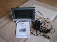 """12volt 8.4"""" DVB-T LCD TV built in Freeview,with mains adaptor."""