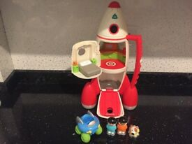ELC Happyland Space Ship Rocket with Lights and Sounds