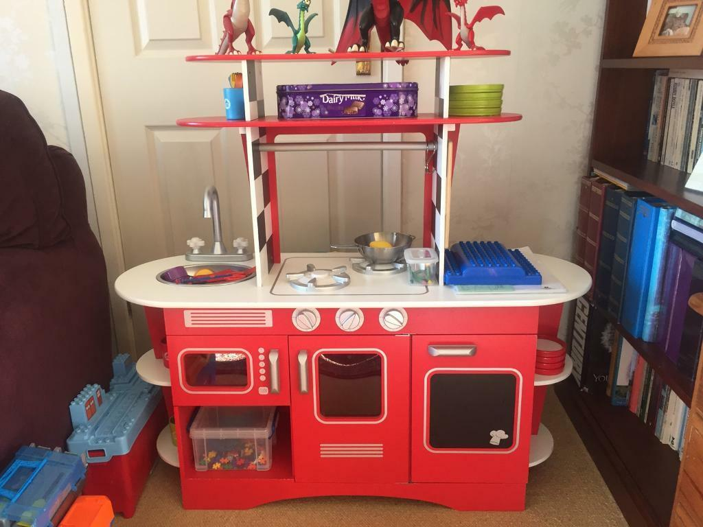 Mothercare Elc Play Kitchen Retro Wooden In Dinas Powys Vale