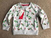 BRAND NEW F&F CHRISTMAS ELVES 'HO! HO! HO!' SWEATER 2-3 YEARS